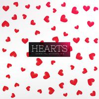 röda hjärtan mönster bakgrund