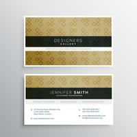 company business card layout template design