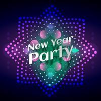 stijlvol gloeiend nieuwjaarsfeest