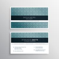 minimal pattern company business card