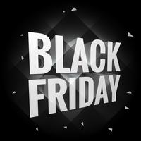 svart fredagstext i mörk bakgrund