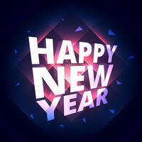 gott nytt år firande hälsning