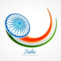 indian flag poster background vector design illustration