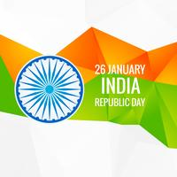 abstract indian republic day  vector design illustration