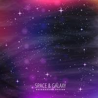 Galaxie Hintergrunddesign