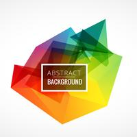 abstract colorful frame background
