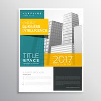 modernes Business-Broschüren-Template-Design in sauberem Stil