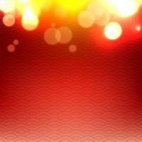 glänzend leuchtender roter Hintergrund