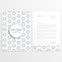 modèle de brochure d'entreprise minimal