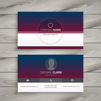 clean visit card template vector design illustration