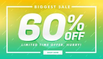 elegante venda, desconto e oferta banner design