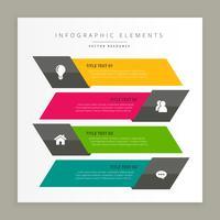 företags infografiska banderoller
