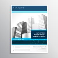 modern company business flyer brochure design with minimal shape