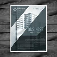 modelo de panfleto de brochura de negócios