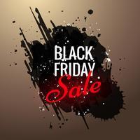 svart fredagssäljningsannonsdesign