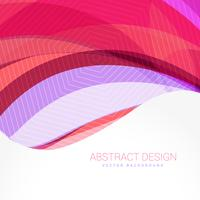 abstract wave background design template vector
