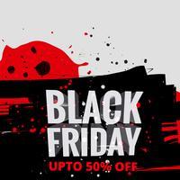 venda de sexta-feira negra criativa