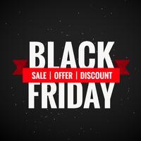 svart fredag försäljning rabatt och erbjudande