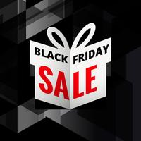 origami giftbox of black friday sale