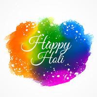 Inder glücklich Holi Festival bunte Tinte malen