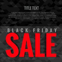 mörk svart fredag försäljning
