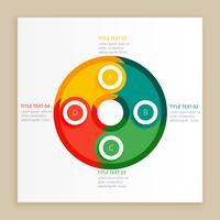 Farben Infographierschritte