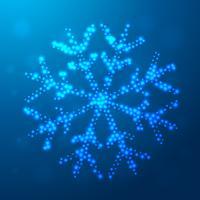 creative christmas snowflake design
