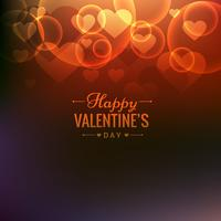 happy valentines day colorful background vector design illustrat