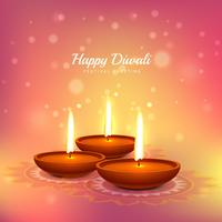 diwali festival greeting card vector design background