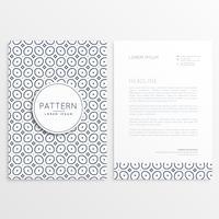 Briefpapier ontwerp voor uw merk