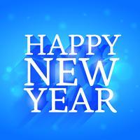 feliz ano novo belo design