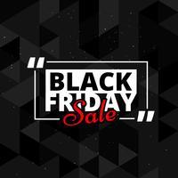 svart fredag försäljning bakgrundsdesign
