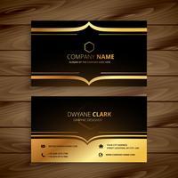luxury business card vector design art illustration