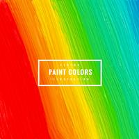 colorful paint strokes