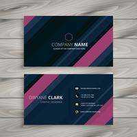 abstract stripes business card template vector design illustrati