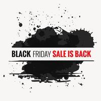 zwarte vrijdag verkoop ontwerp illustratie