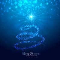 elegante árvore de natal