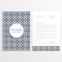 letterhead cover template brochure