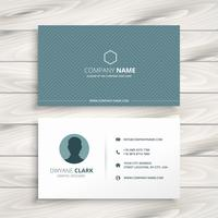 clean minimal business card. Business vector design illustration