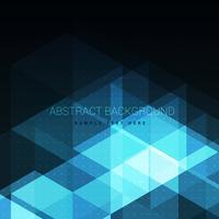 abstrakter glänzender blauer Hintergrund