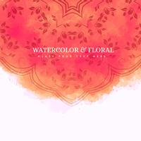 fond aquarelle floral