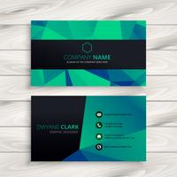 abstract shapes business card  template vector design illustrati
