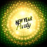 Party-Plakat des neuen Jahres