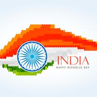 flag of india creative vector design illustration
