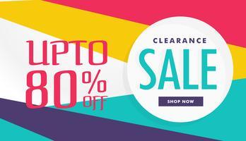 geweldige korting en verkoop voucher banner sjabloonontwerp vector