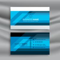 blue professional business card design