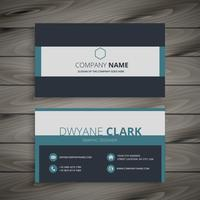 elegant business card  template vector design illustration