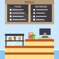 Unique Food Court Vectors