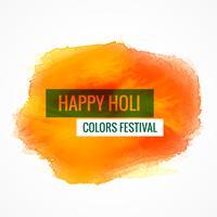 gelukkige holi kleuren festival