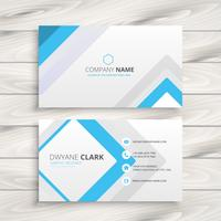 light white business card minimal  vector design illustration
